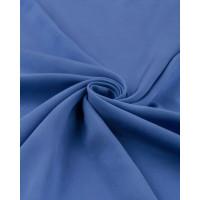 Прочие ОШТ-5-41-6014.044 Штапель-поплин однотонный синий