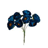 """Mr.Painter PFE-14 Декоративные элементы """"Цветы"""" PFE-14 8 шт. 42 Морская волна (т. синий)"""