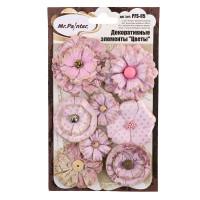 """Mr.Painter PFS-05 Декоративные элементы """"Цветы"""" PFS-05 8 шт. 04 Розовые мечты (розовый)"""