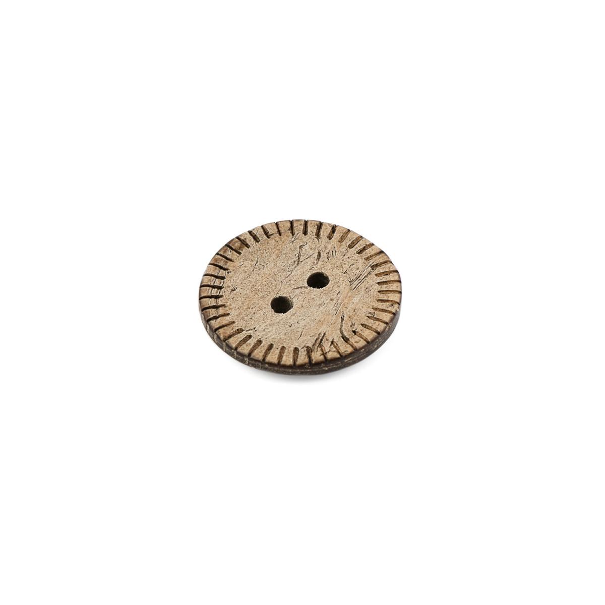 Пуговицы 32L (кокос) бежевый уп.6 шт. (арт. ПК-173-1-36631)