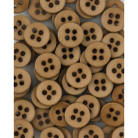 Прочие ПКЛ-165-11-36545.006 Пуговицы 14L коричневый уп.12шт