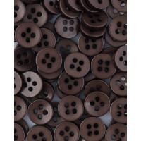 Прочие ПКЛ-165-12-36545.007 Пуговицы 14L коричневый уп.12шт