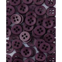 Прочие ПКЛ-165-15-36545.015 Пуговицы 14L фиолетовый уп.12шт