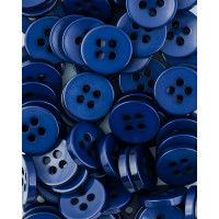 Прочие ПКЛ-166-6-36546.005 Пуговицы 18L синий уп.12шт