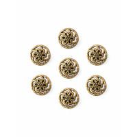 Прочие ПМ-363-1-35111.001 Пуговицы 14L (металл) золотистый