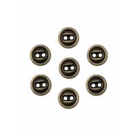 Прочие ПМ-365-2-35114.002 Пуговицы 14L (металл) бронзовый