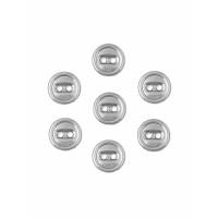 Прочие ПМ-365-4-35114.004 Пуговицы 14L (металл) серебристый