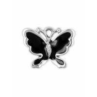 Прочие ПОД-247-1-39437 Подвеска р.1,8х2,3 см серебристый