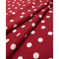 Прочие ПШТ-487-2-20612.028 Штапель принт красный шир. 146 см