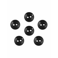 Прочие ПУБР-670-20-36965.003 Пуговицы 16L черный уп.12шт