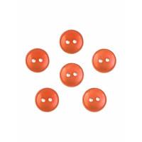 Прочие ПУБР-670-27-36965.022 Пуговицы 16L оранжевый уп.12шт
