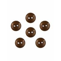Прочие ПУБР-670-3-36965.011 Пуговицы 16L коричневый уп.12шт