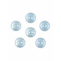Прочие ПУБР-670-31-36965.005 Пуговицы 16L голубой уп.12шт