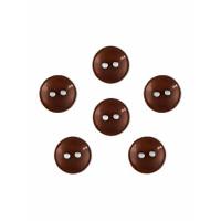 Прочие ПУБР-670-33-36965.010 Пуговицы 16L коричневый уп.12шт
