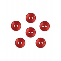 Прочие ПУБР-670-5-36965.028 Пуговицы 16L красный уп.12шт