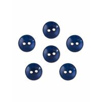 Прочие ПУБР-670-6-36965.007 Пуговицы 16L синий уп.12шт