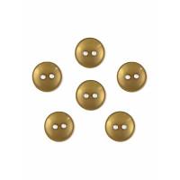Прочие ПУБР-670-7-36965.009 Пуговицы 16L коричневый уп.12шт