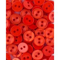 Прочие ПУБР-714-4-36585.018 Пуговицы 14L оранжевый уп.12шт