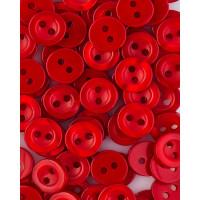 Прочие ПУБР-714-6-36585.023 Пуговицы 14L красный уп.12шт