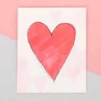 Прочие С0001400 3639891 Пакет подарочный «С любовью», 8 × 10 см