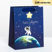 Прочие С0001515 4243613 Пакет подарочный вертикальный «Моей звездочке», MS 18 х 23 × 10 см