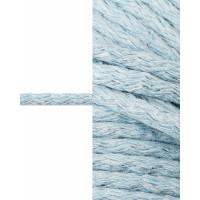 Прочие ШД-113-16-34326.007 Шнур декоративный д.0,5 см голубой хлопок 100%, 50м