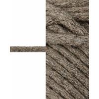 Прочие ШД-113-21-34326.001 Шнур декоративный д.0,5 см коричневый хлопок 100%, 50м