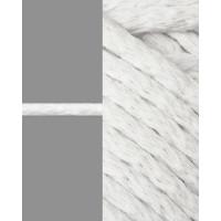 Прочие ШД-113-22-34326.005 Шнур декоративный д.0,5 см белый хлопок 100%, 50м