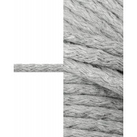 Прочие ШД-113-25-34326.015 Шнур декоративный д.0,5 см серый хлопок 100%, 50м