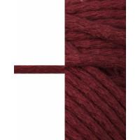Прочие ШД-113-9-34326.011 Шнур декоративный д.0,5 см бордовый хлопок 100%, 50м