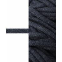 Прочие ШД-114-14-34327.014 Шнур декоративный д.0,8 см синий 100% хлопок, 50м