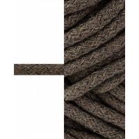 Прочие ШД-114-17-34327.017 Шнур декоративный д.0,8 см коричневый 100% хлопок, 50м
