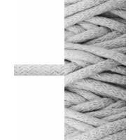 Прочие ШД-114-3-34327.003 Шнур декоративный д.0,8 см серый 100% хлопок, 50м