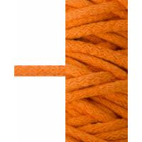 Прочие ШД-114-9-34327.009 Шнур декоративный д.0,8 см оранжевый 100% хлопок, 50м