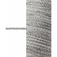 Прочие ШД-135-1-35316.001 Шнур декоративный д.0,2 см серебристый п/э, 50 м
