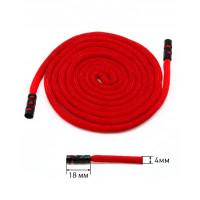 Прочие ШД-147-1-36452 Шнур готовый с наконечниками дл.1,5 м красный