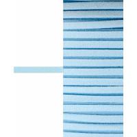 Прочие ШД-66-4-30916.004 Шнур замшевый ш.0,3 см светло-голубой 1 метр