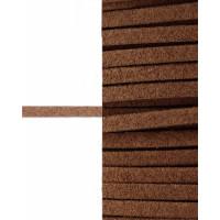 Прочие ШД-66-6-30916.007 Шнур замшевый ш.0,3 см коричневый 1 метр