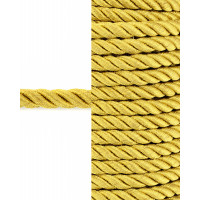 Прочие ШД-76-1-31428.001 Шнур декоративный д.0,8 см золотистый п/э, 25м