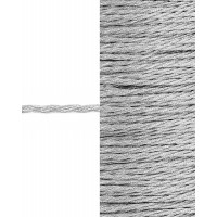 Прочие ШД-84-2-31448.001 Шнур декоративный д.0,2 см серебристый п/э, 100м