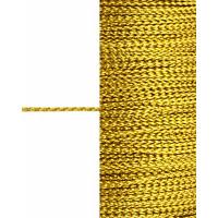 Прочие ШД-87-1-31565.001 Шнур декоративный д.0,1 см золотистый п/э, 100м