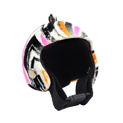 Шлем мини AR1189 (цветной зигзаг) 5 см. AR1189 (арт. Шлем мини AR1189 (цветной зигзаг) 5 см.)