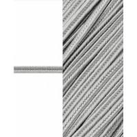 Прочие ШС-5-18-32612.001 Сутаж атласный ш.0,3 см серый 1 м