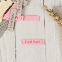 Прочие СМЛ-159581-1-СМЛ0006906815 Нашивка «Hand made», 4,2 × 1 см, 1шт