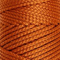 Osttex СМЛ-40115-10-СМЛ0002862184 Шнур для вязания без сердечника 100% полиэфир, ширина 3мм 100м/210гр, (96 сиреневый) бежевый