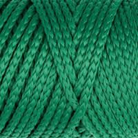 Osttex СМЛ-40115-16-СМЛ0002862186 Шнур для вязания без сердечника 100% полиэфир, ширина 3мм 100м/210гр, (96 сиреневый) зелёный
