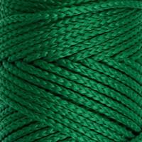 Osttex СМЛ-40115-17-СМЛ0002862187 Шнур для вязания без сердечника 100% полиэфир, ширина 3мм 100м/210гр, (96 сиреневый) зелёный