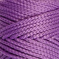 Osttex СМЛ-40115-18-СМЛ0002862182 Шнур для вязания без сердечника 100% полиэфир, ширина 3мм 100м/210гр, (96 сиреневый) фиолетовый