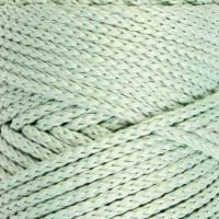 Osttex СМЛ-40115-19-СМЛ0002862188 Шнур для вязания без сердечника 100% полиэфир, ширина 3мм 100м/210гр, (96 сиреневый) зелёный