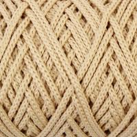 Osttex СМЛ-40115-20-СМЛ0002862181 Шнур для вязания без сердечника 100% полиэфир, ширина 3мм 100м/210гр, (96 сиреневый) белый